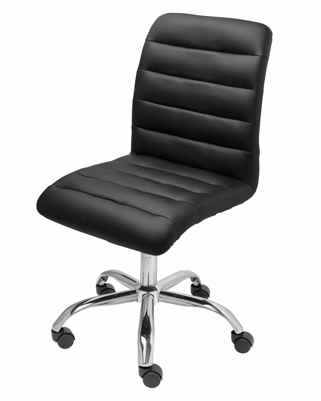wrought studio parkland mid back armless desk chair reviews wayfair rh wayfair com armless office chairs cheap armless desk chairs leather