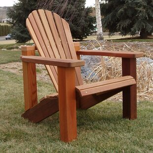 Wood Adirondack Chair by Wood Country