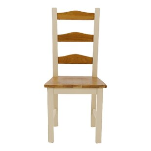 Sanford Solid Oak Dining Chair (Set Of 2) By Beachcrest Home
