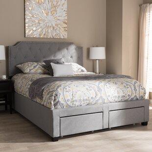 House of Hampton Meador Upholstered Storage Platform Bed