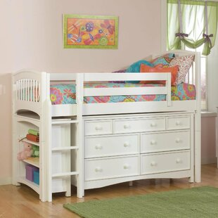 Low Loft Bed With Dresser Wayfair