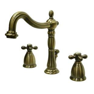 +1. Elements Of Design. Heritage Widespread Bathroom Faucet ...