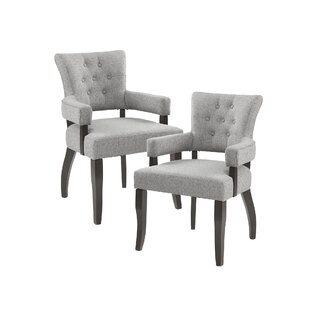 Brayden Studio Sundee Upholstered Dining Chair (Set of 2)