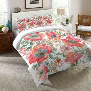 Kessinger Bohemian Poppies Comforter by Winston Porter