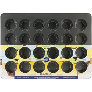 Find the perfect Non-Stick 24 Cup Perfect Mega Muffin Tin By Wilton