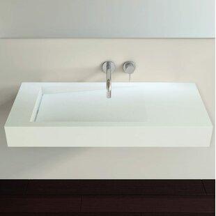 Inexpensive Polymarble 47 Wall Mount Bathroom Sink By Badeloft
