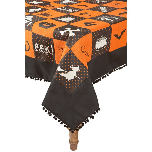 Halloween Patchwork Table Cloth