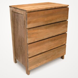 Simplie 4 Drawer Standard Chest by NES Furniture