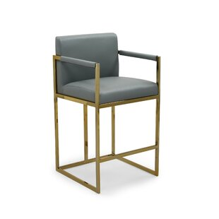 Wilfredo 26.25 Bar Stool by Everly Quinn