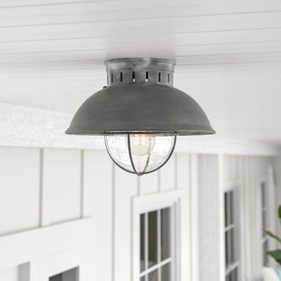 Beachcrest Home Archibald Outdoor Semi-Flush Mount