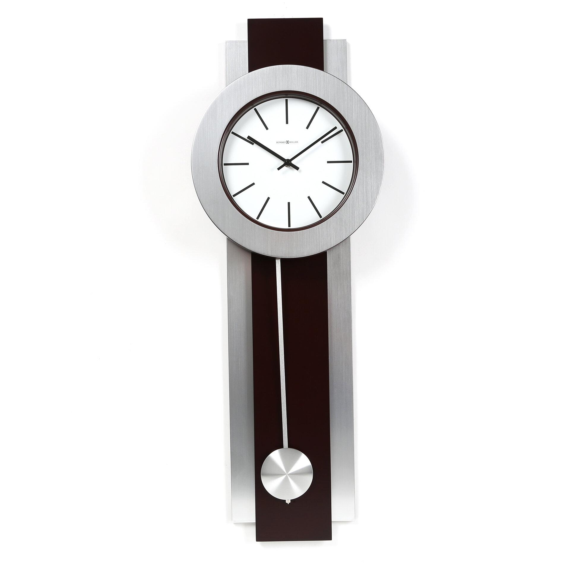 Howard Miller Designer Choice Bergen Quartz Wall Clock Reviews Wayfair