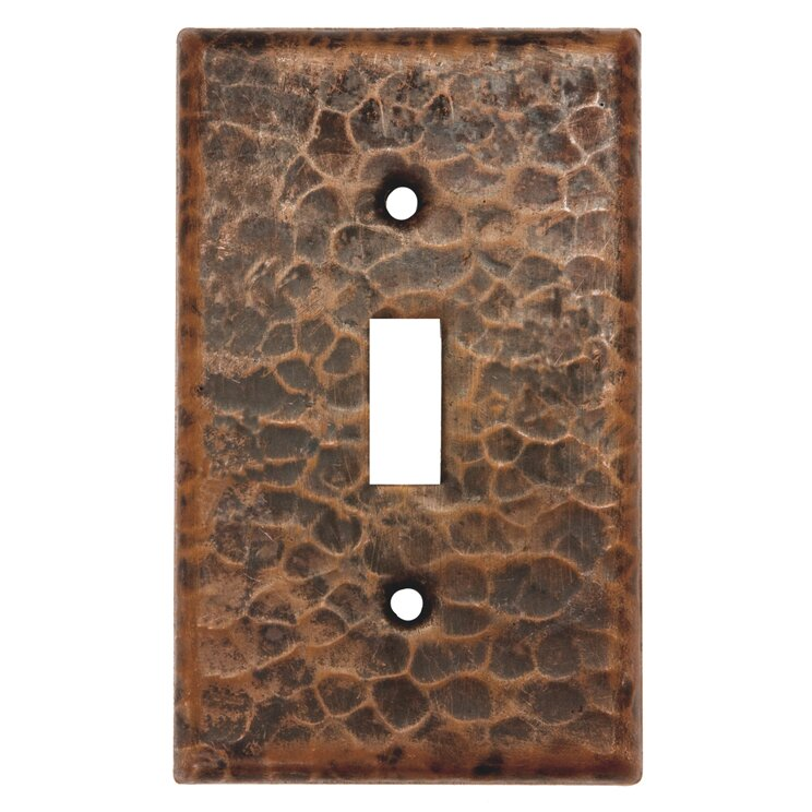Premier Copper Products 1 Gang Toggle Light Switch Wall Plate Reviews Wayfair