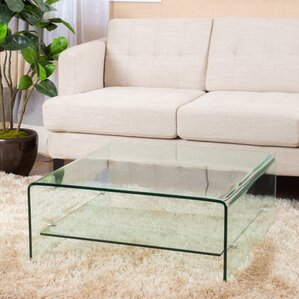 Glass Square Coffee Tables Youll Love Wayfair