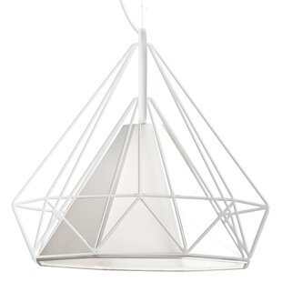 Nevaeh 1-Light Geometric Pendant by Radionic Hi Tech