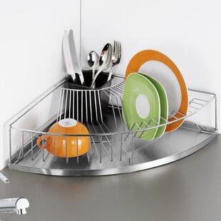 Corner Dish Rack & Extra Large Dish Drainer | Wayfair