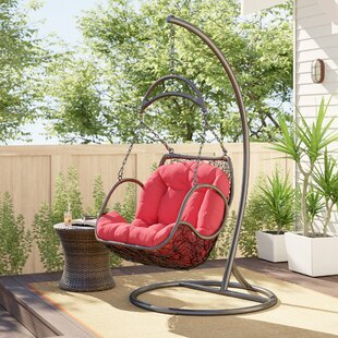 Holladay Swing Chair with Stand by Bay Isle Home