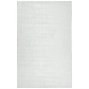 Getchell Hand-Tufted White Area Rug ByCharlton Home