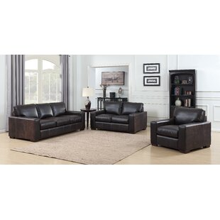 Big Save Priscila 3 Piece Leather Living Room Set by 17 Stories Reviews (2019) & Buyer's Guide