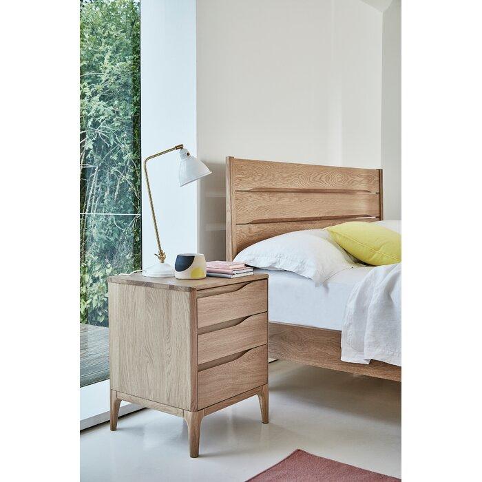 quality design df2c8 212b6 Rimini 3 Drawer Bedside Table