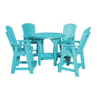 Patricia Traditional 5 Piece Dining Set