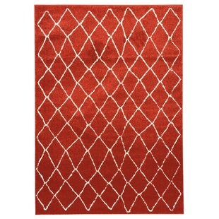Torgerson Orange Indoor/Outdoor Area Rug
