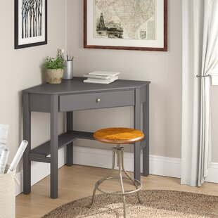 Suri Wood Corner Writing Desk by Andover Mills Herry Up