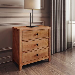 Foundry Select Antonucci 3 Drawer Nightst..