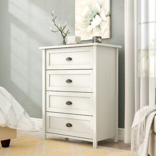 Geraldine 4 Drawer Chest by Andover Mills Sale