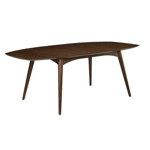 Kelemen Extendable Solid Wood Dining Table Bayou Breeze
