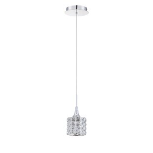 Kendal Lighting Lustra 1-Light Crystal Pendant