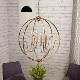 Find a Ellis 6-Light Globe Chandelier By Zipcode Design