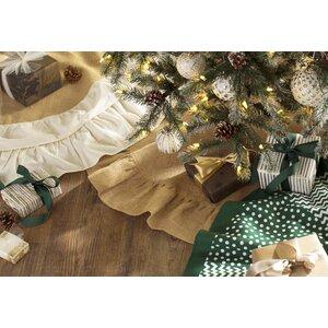 Jute Christmas Tree Skirt