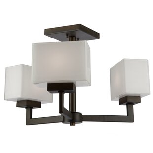 Kristi 3-Light Semi Flush Moun..