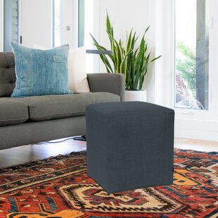 Fenham Cube Ottoman by Rosecliff Heights