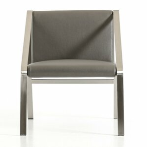 Clower Modern Bonded Leather Side Chair