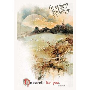 He Careth for You Vintage Advertisement