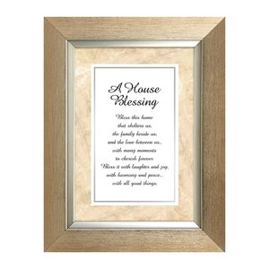A House Blessing Picture Frame