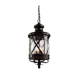 Laurel Foundry Modern Farmhouse Landon 3-Light Hanging Lantern