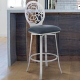 Lotus Bar & Counter Swivel Stool by Armen Living