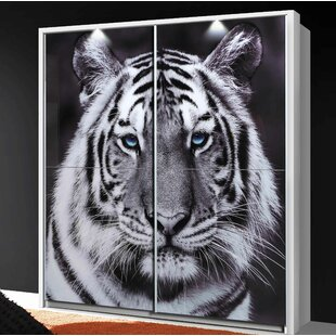 Tiger Domingue 2 Door Sliding Wardrobe By 17 Stories