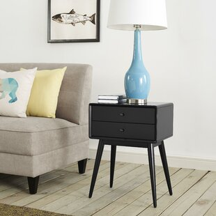 Elle Decor Stephanie End Table with Storage