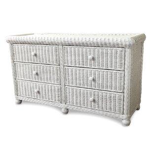 Watkins 6 Drawer Double Dresser by Bay Isle Home