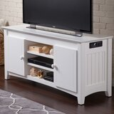 Simas Solid Wood TV Stand for TVs up to 55 by Breakwater Bay