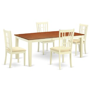 Pilger 5 Piece Dining Set August Grove