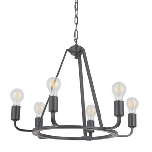 17 Stories Lysia 6-Light Chandelier