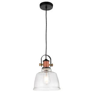 CWI Lighting Tower Bell 1-Light Cone Pendant