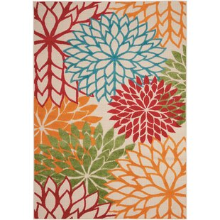 Online Reviews Goldhorn Green Indoor/Outdoor Area Rug By Andover Mills