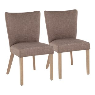 Natick Upholstered Dining Chair (Set of 2) August Grove