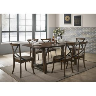 Vineyard 7 Piece Dining Set Gracie Oaks