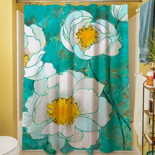 Flower Field Single Shower Curtain